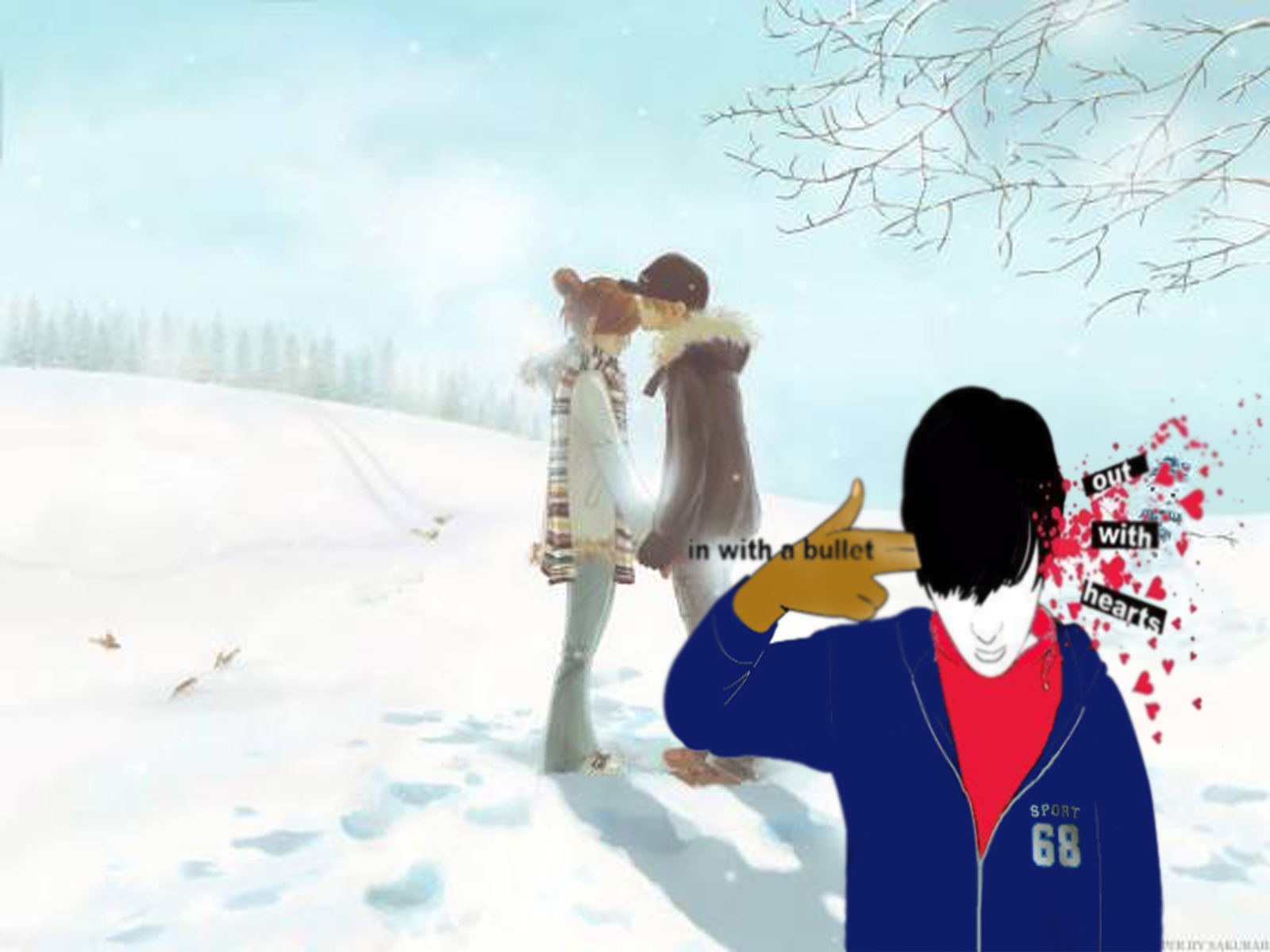 Gambar Kartun Lagi Putus Cinta Keren  Bestkartun